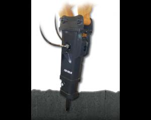 Hydraulikhammer Raupenbagger MS21