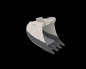 Tieflöffel Raupenbagger 1200 mm