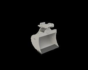 Tieflöffel mit Drehmotor 1400 mm