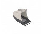 Tieflöffel Raupenbagger 600 mm